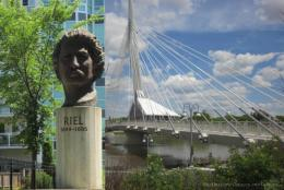 Discovering Louis Riel in Winnipeg, Canada